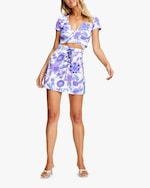 Alice McCall Blueberry Nights Crop Top 5