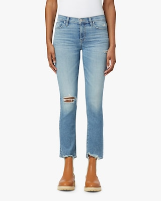 Hudson Nico Mid-Rise Straight Ankle Jeans 1