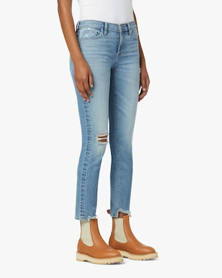 Hudson Nico Mid-Rise Straight Ankle Jeans 2