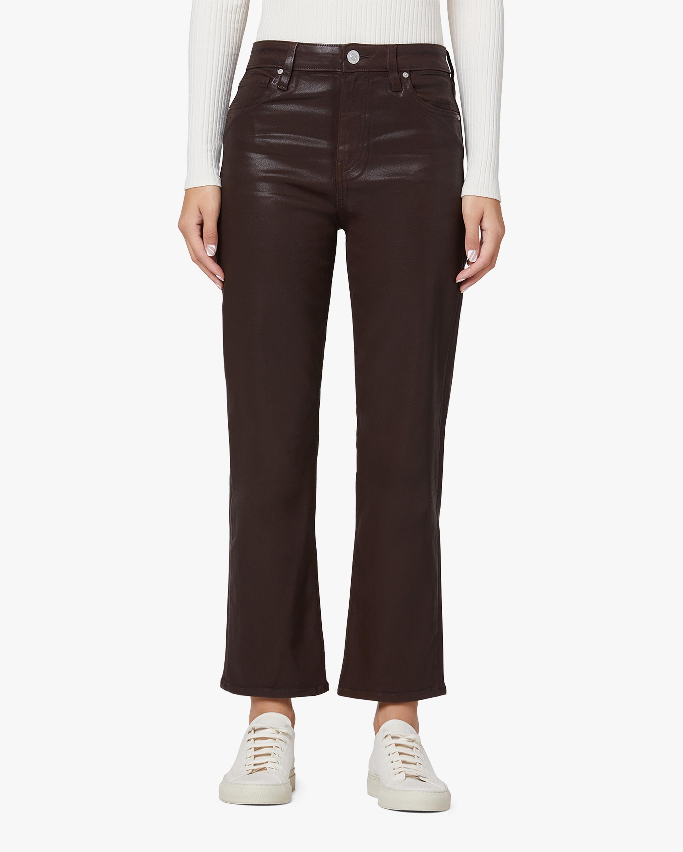 Hudson Remi High-Rise Straight Crop Jeans 0