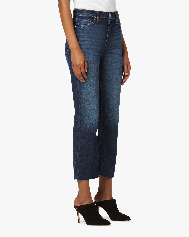 Hudson Remi High-Rise Straight Crop Jeans 2