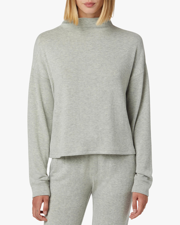 Hudson Mock Neck Sweater 1