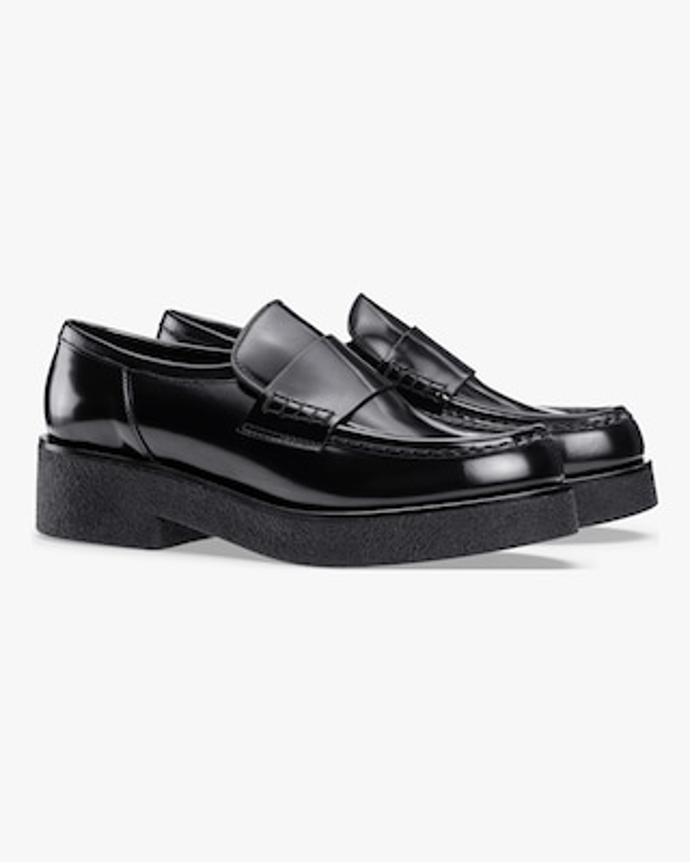 KOIO Glossed Black Bari Leather Loafer 2