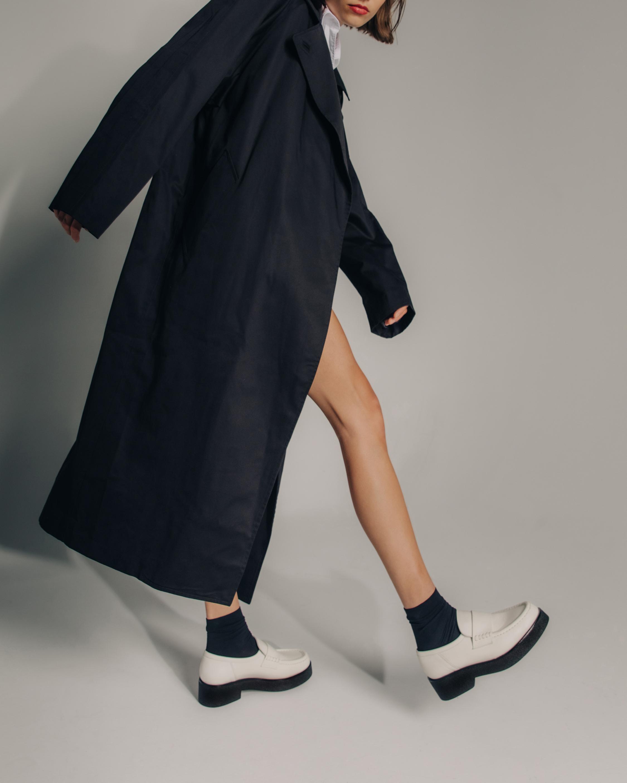 KOIO Ivory Bari Leather Loafer 2