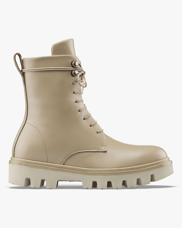 KOIO Sandalwood Cortina Leather Combat Boot 1
