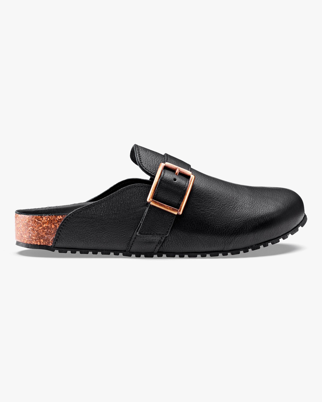 KOIO Obsidian Fuori Leather Mule 1