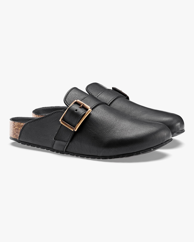KOIO Obsidian Fuori Leather Mule 2