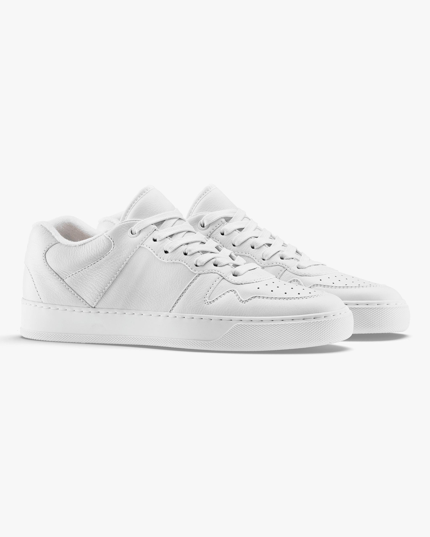 KOIO Triple White Metro Leather Sneaker 1