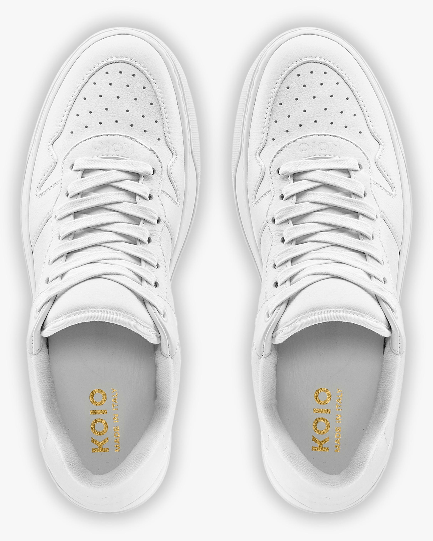 KOIO Triple White Metro Leather Sneaker 3