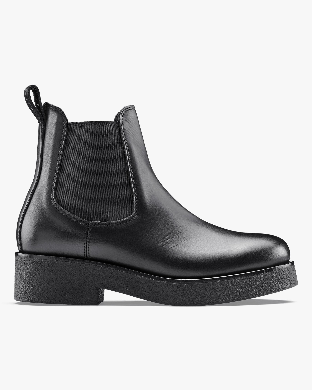KOIO Black Novara Leather Chelsea Boot 1