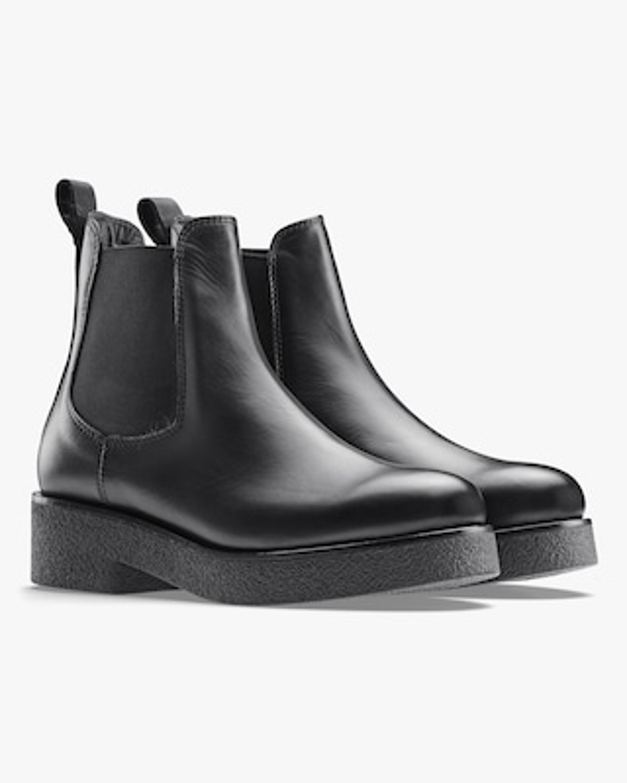 KOIO Black Novara Leather Chelsea Boot 2
