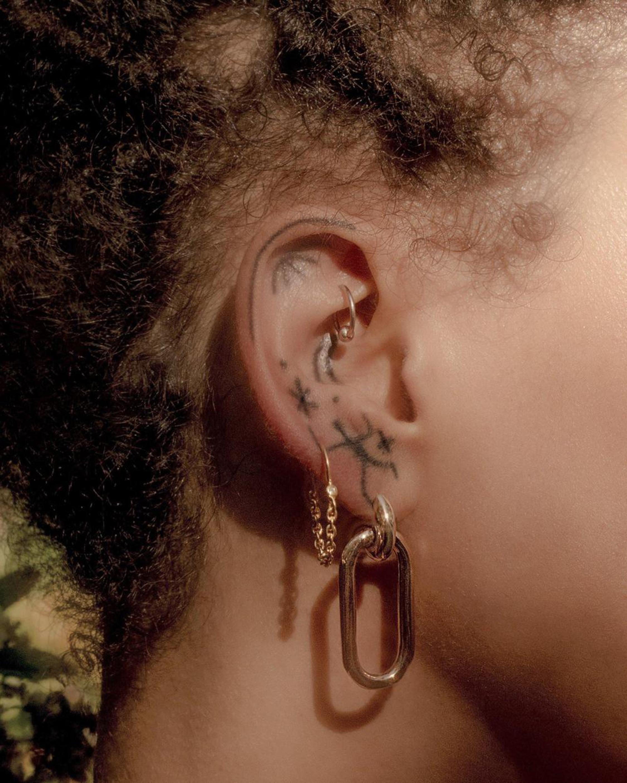 Pamela Love Suspension Hoop Earrings 1