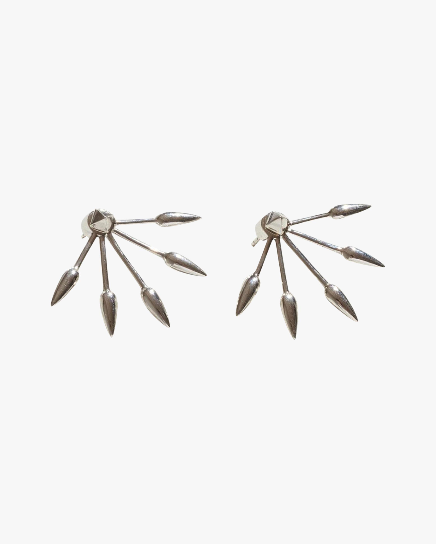 Pamela Love Five Spike Earrings 0