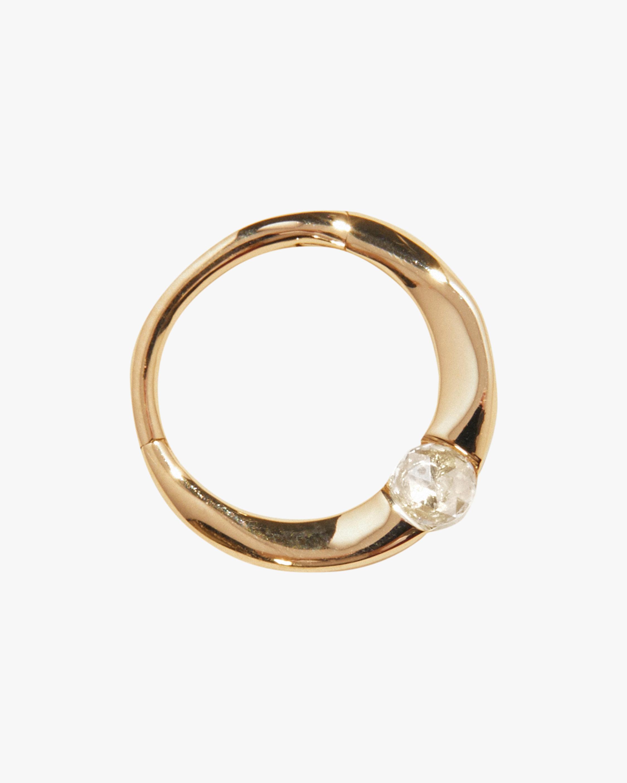 Pamela Love Single Floating Diamond Clicker Earring 0