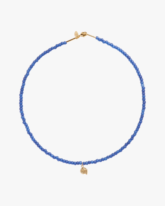 Pamela Love Nautilus Beaded Necklace 0