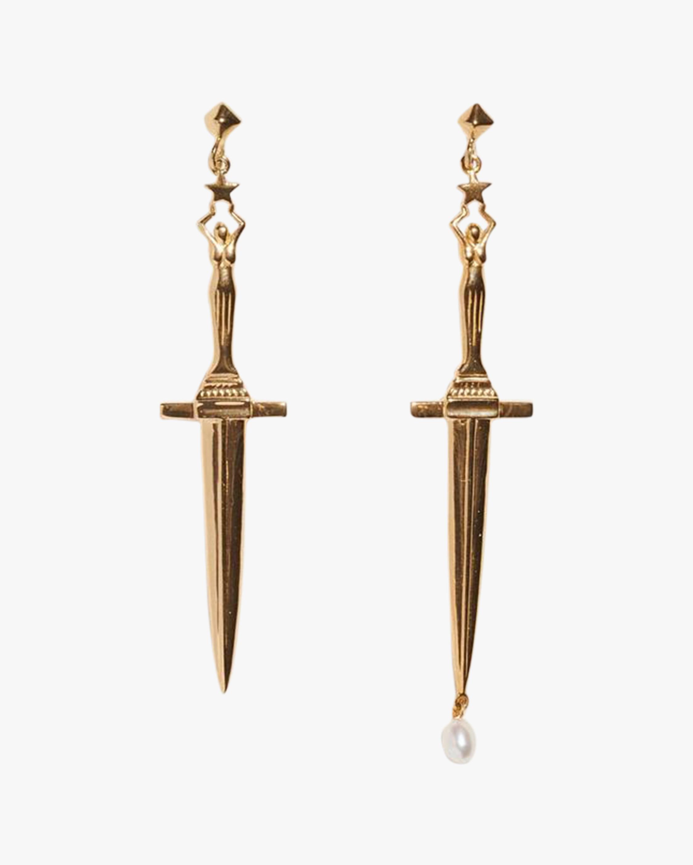 Pamela Love Dagger Earrings 1