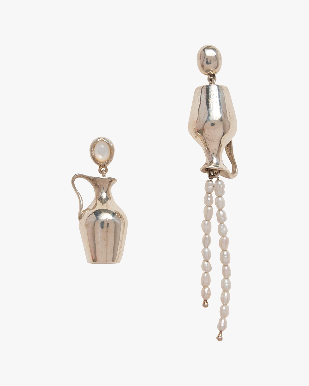 Pamela Love Vessel Pearl Earrings 0