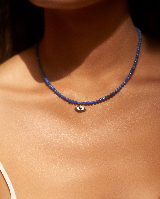 Pamela Love Beaded Eye Necklace 1