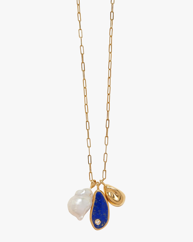 Pamela Love Pilar Charm Necklace 1
