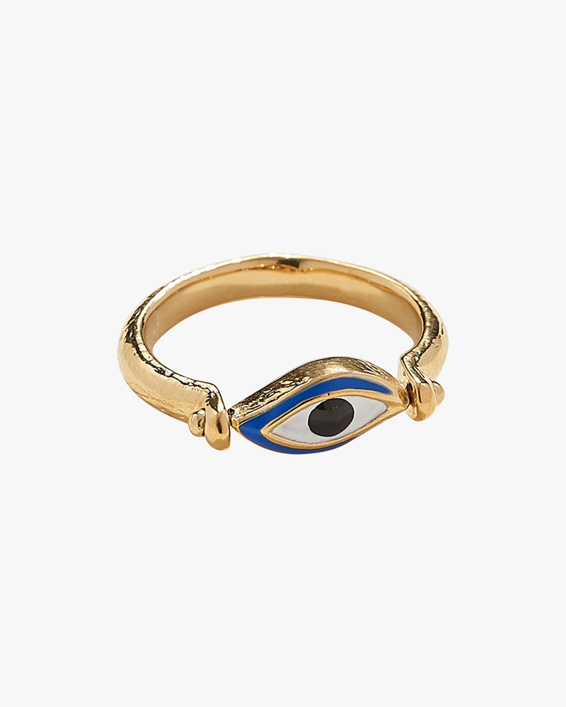 Pamela Love Enamel Eye Ring 0