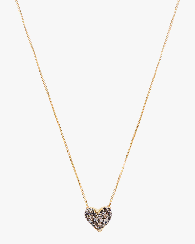 Alexis Bittar Solanales Crystal Heart Pendant Necklace 2
