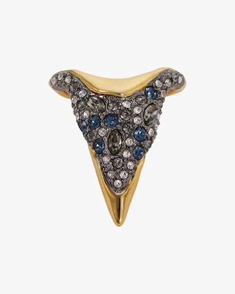 Alexis Bittar Solanales Crystal Pointed Ring 1