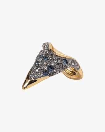 Alexis Bittar Solanales Crystal Pointed Ring 2