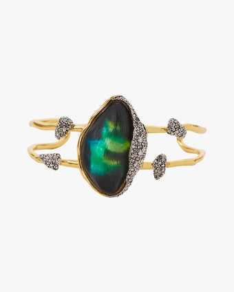 Alexis Bittar Solanales Crystal Lake Lucite Cuff 1