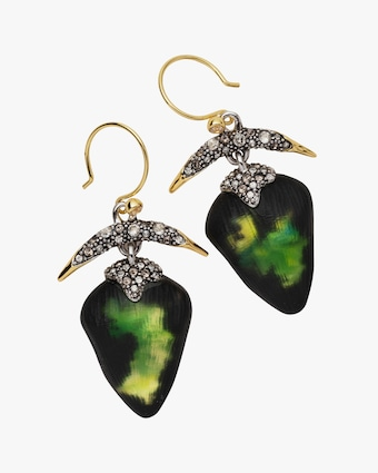 Alexis Bittar Solanales Crystal & Lucite Arc Drop Earrings 2