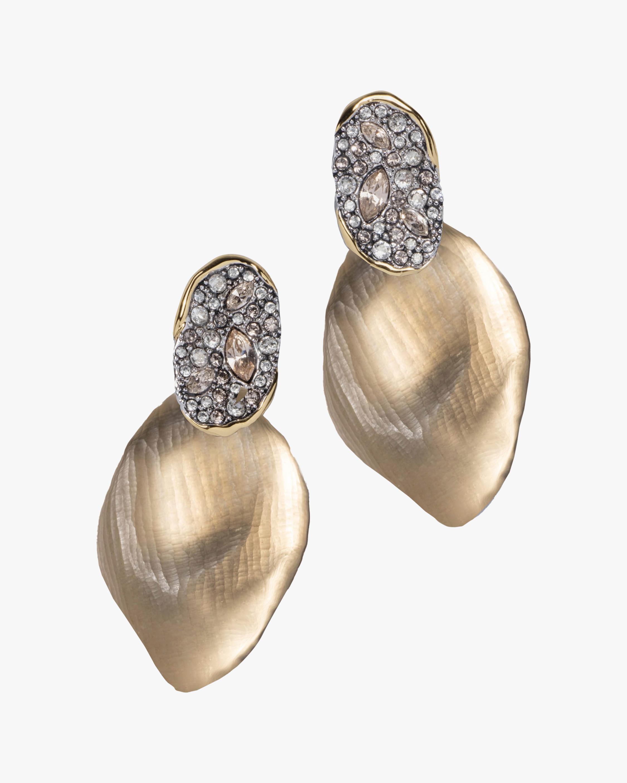 Alexis Bittar Solanales Crystal Lake Petal Earrings 1