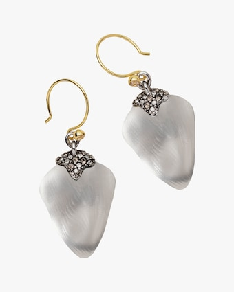 Alexis Bittar Solanales Crystal Lucite Drop Earrings 2