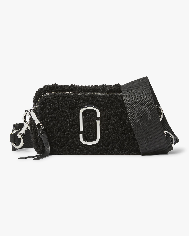 Marc Jacobs Teddy Snapshot Crossbody Bag 0