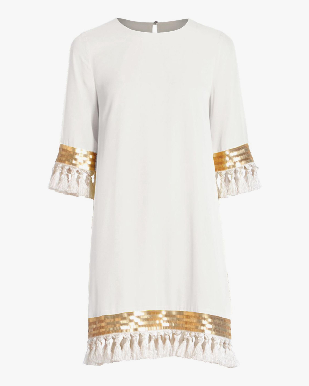 Mestiza Shimmy Shimmy Tassel Dress 0