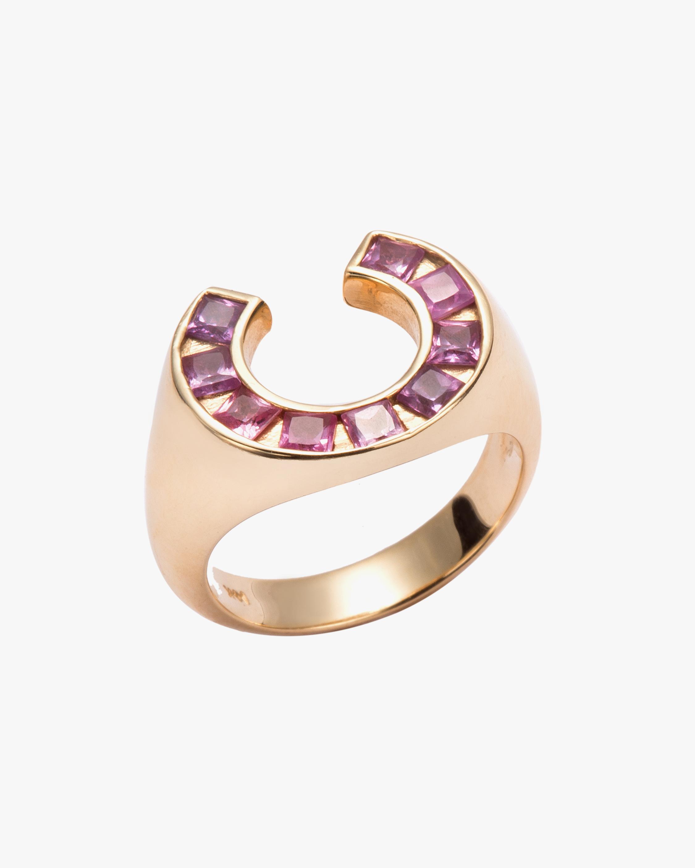 Jolly Bijou Sapphire Sundial Ring 1