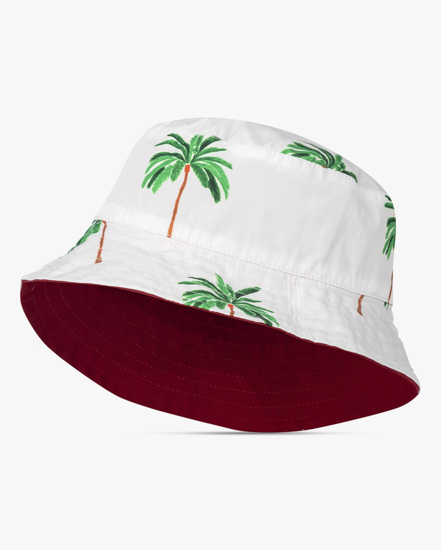 Verde Limón Palm Tree Bucket Hat 2