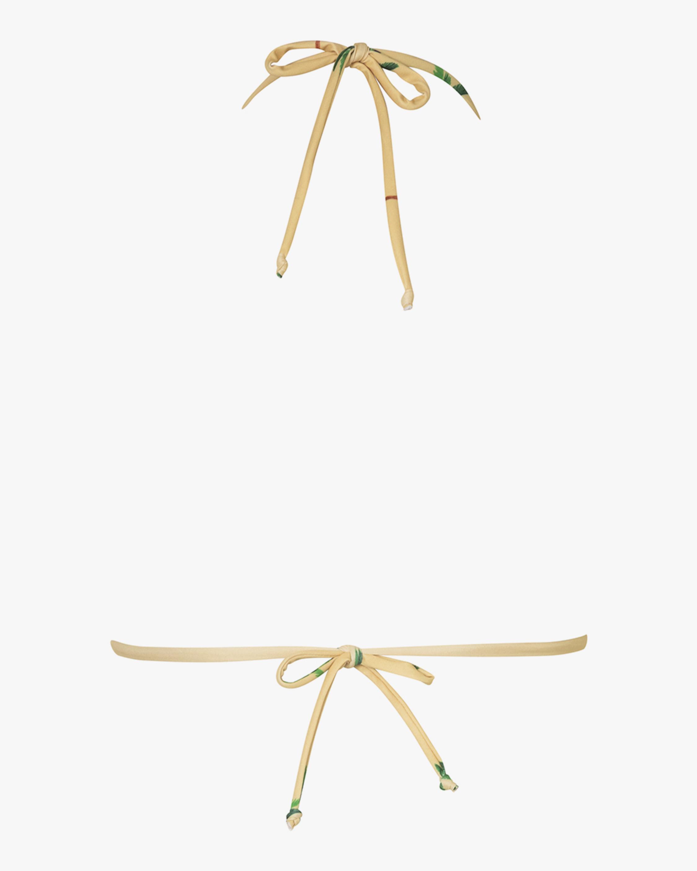 Verde Limón Moa Bikini Top 2