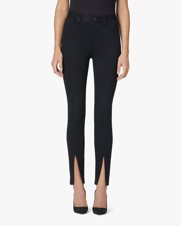 Hudson Barbara High-Rise Super Skinny Slit-Hem Jeans 1