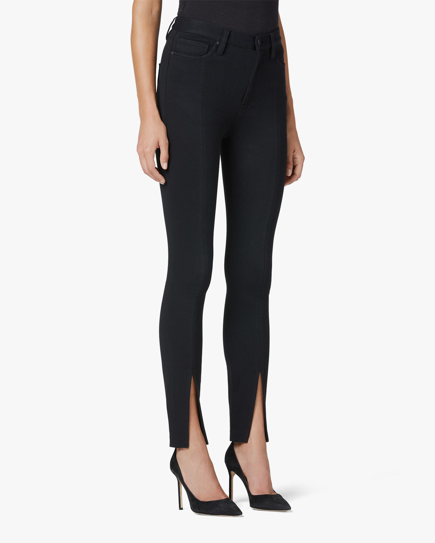 Hudson Barbara High-Rise Super Skinny Slit-Hem Jeans 2