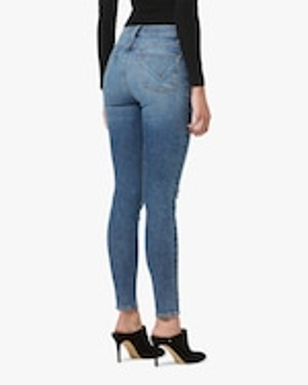 Hudson Barbara High-Rise Super-Skinny Ankle Jeans 3