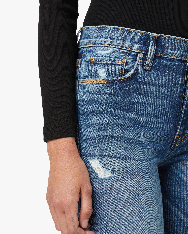 Hudson Barbara High-Rise Super-Skinny Ankle Jeans 5