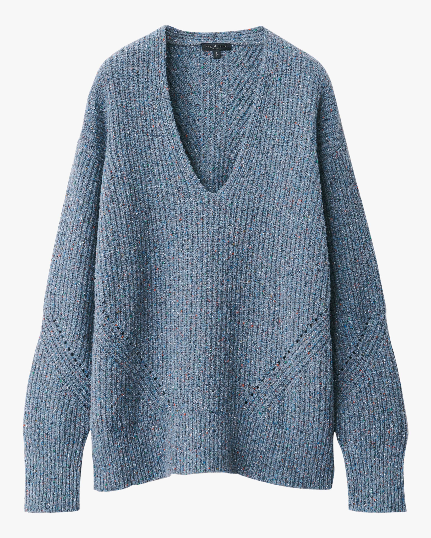 rag & bone Eco Donegal V-Neck Sweater 2