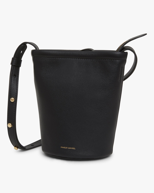 Mansur Gavriel Mini Zip Bucket Bag 0
