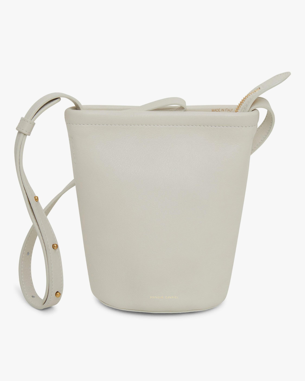 Mansur Gavriel Mini Zip Bucket Bag 1