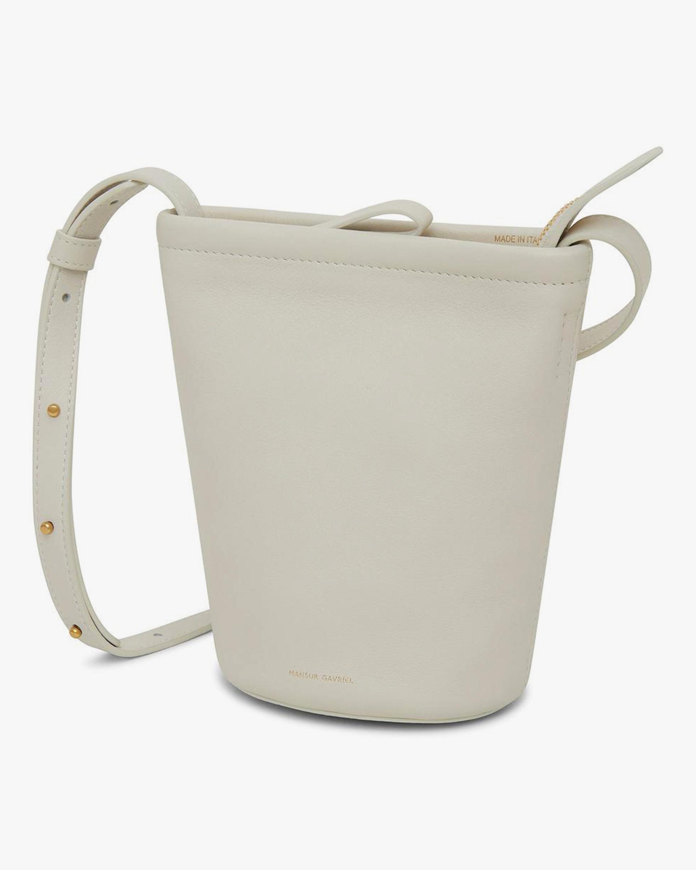 Mansur Gavriel Mini Zip Bucket Bag 2
