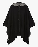 Theory Felted Hooded Poncho 0