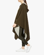 Theory Felted Hooded Poncho 3