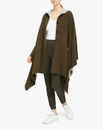 Theory Felted Hooded Poncho 4
