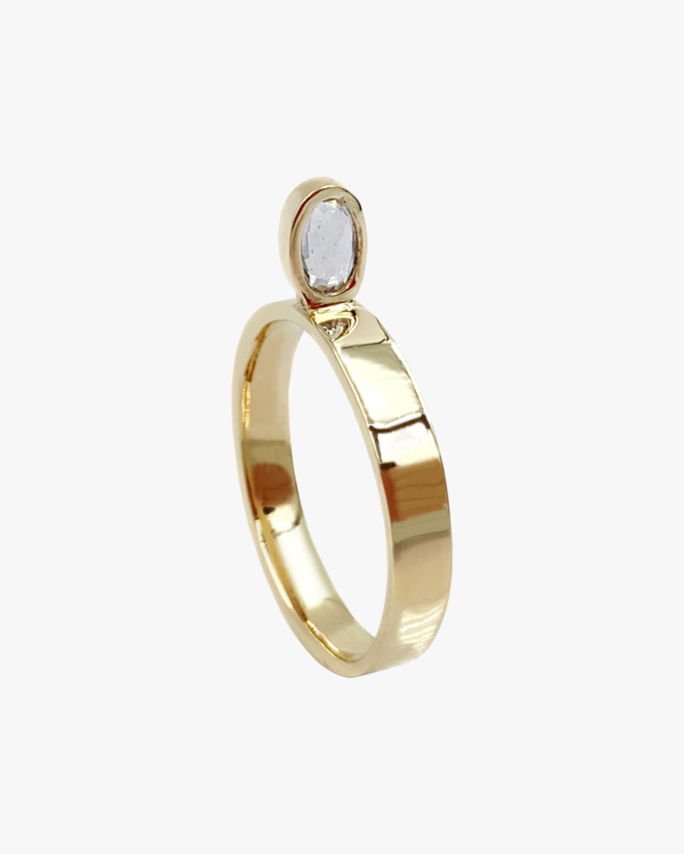 Leslie Paige Blue Sapphire Perched Ring 1