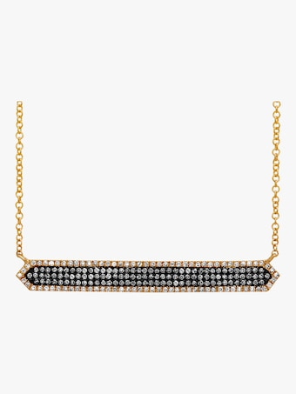 Zig Zag Bar Necklace