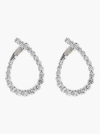 Illusion Loop Earrings